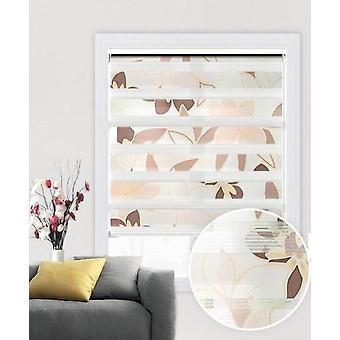 طبقة مزدوجة، خفيفة الوزن، حماية من الأشعة فوق البنفسجية- الستائر الدوارة نافذة التظليل