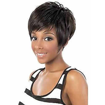 Brand Mall Wigs, Lace Wigs, Black Short Hair Straight Hair