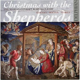 McCleery / Marian Consort - Christmas with the Shepherds [CD] USA import