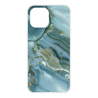 Caja para IPhone 12 Mini (5.4) Diseño flexible de efectos de mármol