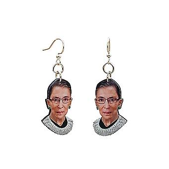 Boucles d'oreilles Ruth Bader Ginsburg #t002