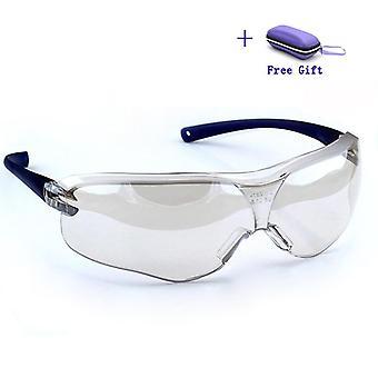 Schutzbrille Brille Anti-Wind Sand Nebel Schock Staubbeständiges Transparent auge