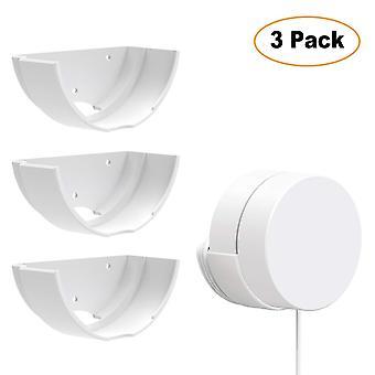 Google Wifi Wandhalterung, Sonomo 3 Pack Halterung Ständerhalter für Google Mesh Wi-Fi und Router-System,