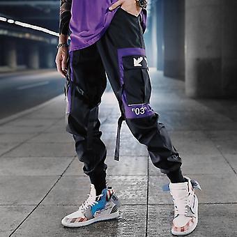 Hip Hop Ribbons Cargo Pants