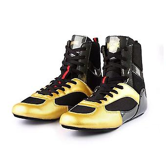 Boxing Higt-ankle, Wrestling Shoes, Anti-slip Wrestling Sneakers