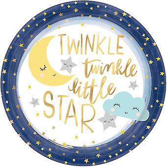 Borden 'Twinkle Little Star' 27 Cm 8 Pieces
