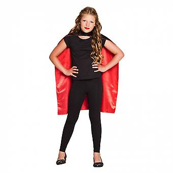 Cape Junior 90 Cm Polyester Black / Red One Size