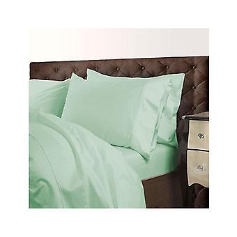 Royal Comfort 1000 Tc Cotton Blend Quilt Cover Set Premium Green Mist