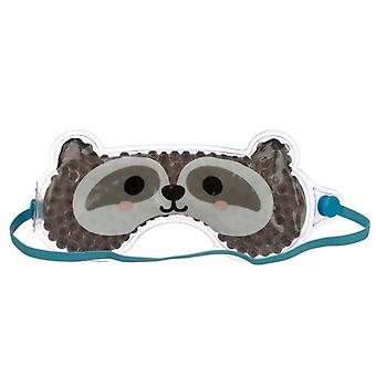 Máscara de olho de gel divertido - guaxinim cutiemals