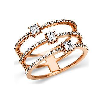 לונה יצירה לגר טבעת מרובים אבן לקצץ 1U143R851-1 - רוחב טבעת: 51.5