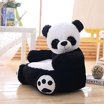 Cute Child Panda Plush Sofa Cushion, Baby Seat, Chair, Furniture