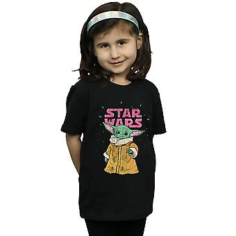 Star Wars Girls The Mandalorian The Child T-paita