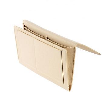 Bed Opbergtas, Pocket Vilt Bedside Hanging Table Sofa Slaapkamer Organizer