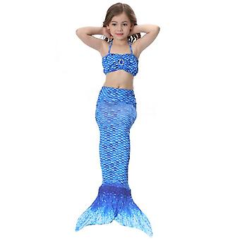 Girls Swimsuits Mermaid For Swimming Mermaid Costume Bikini Set For  Girls Birthday