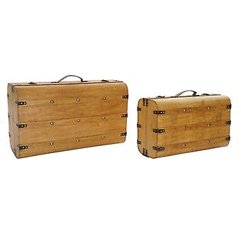 Coffre Dekodonia Wood Colonial (2 pcs)