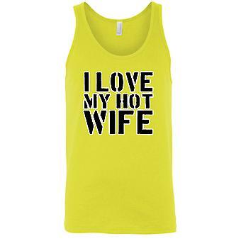 Men's I Love My Hot Wife Tank Top