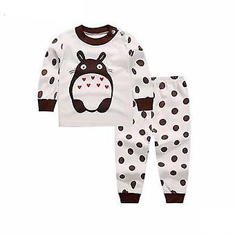 Ensemble de vêtements de nuit en coton long pour bébé