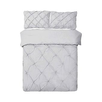 Giselle Bedding Quilt Cover Set Grigio