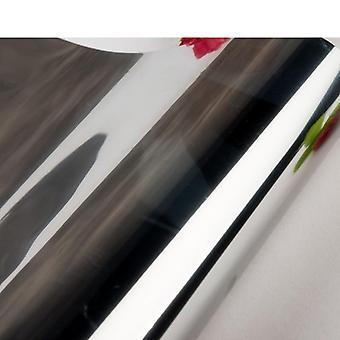 أعلى طريقة واحدة مرآة نافذة الفينيل الذاتي لاصقة عاكسة فيلم الشمسية