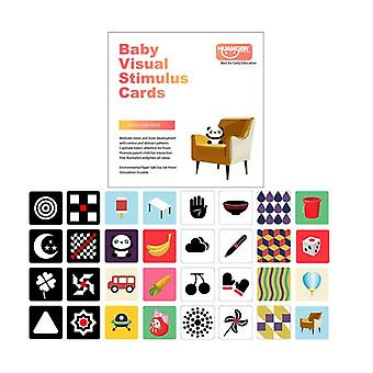 Visual Stimulation Training Early Education Card