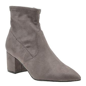 Steve Madden Womens Blair Fabric Pointed Toe Ankle Fashion Boots