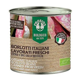 Freshly processed Italian borlotti beans 400 g
