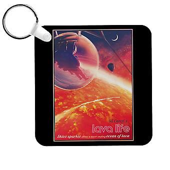 NASA 55 Cancri E Lava Life Keyring