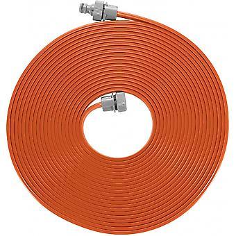 sprayslang 15 meter PVC orange/grå 2-delar