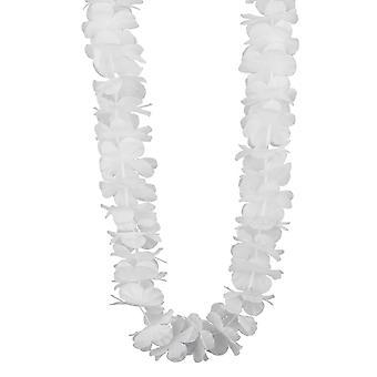 Witte Hawaiiaanse ketting