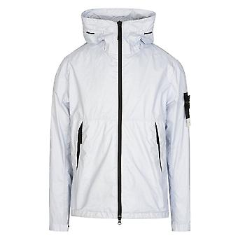 Stone Island | 42423 Membrana 3l Tc Lightweight Hood Jacket - Light Sky