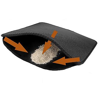 Tapis pour chats double structure Cat Litter Tray Mat