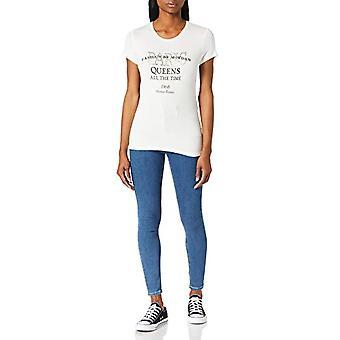 Morgan Tshirt DQUEEN T-Shirt, Raw White, M/High Woman