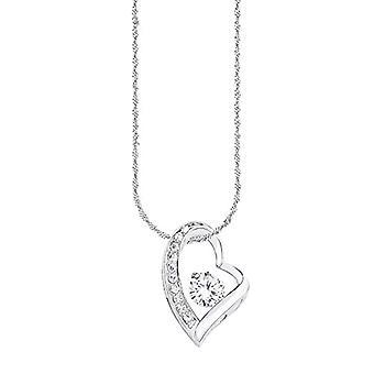 Amor 925 silver Round white Cubic Zirconia(2)