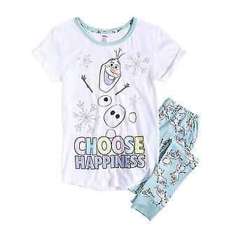 Dámske Disney Frozen Olaf 'Choose Happiness' Pyjama Set