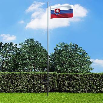 vidaXL Slovakian lippu 90×150 cm