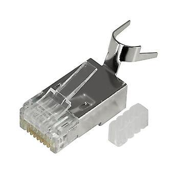 Doss Sstp Cat6 8P8C Modular Plug Solid Shielded Rj45