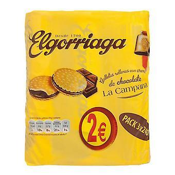 Biscuiți cu ciocolată El Gorriaga (3 x 240 g)