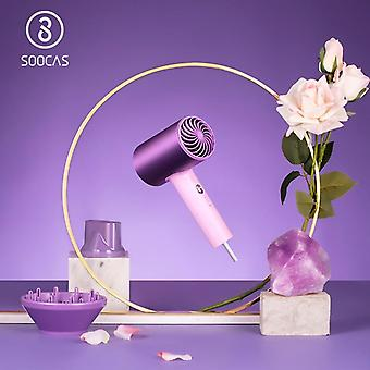 H5 Anion Professional Blow Dryer Quickly Dry Electric Dryer Diffuser Aluminum Alloy Cold Hot Air