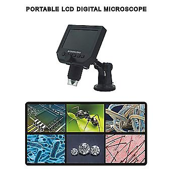 Portátil 600x Hd 3 .6mp Ccd Pixel 4.3 pulgadas Oled Display Lcd Microscopio Digital