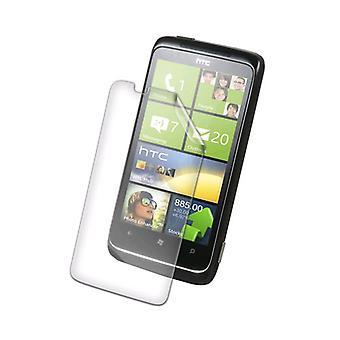 ZAGG invisibleSHIELD skärmskydd för HTC 7-tums Trophy skärm - Clear