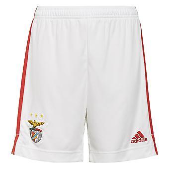 2021-2022 Benfica Home Shorts (White) - Kids