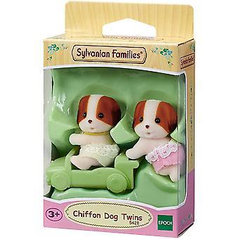 Sylvanian Familier Chiffon Hund Tvillinger 5428