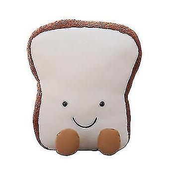 Uuden tyylin pehmennä nukke paahtoleipää söpö tyyny luova nukke(L)