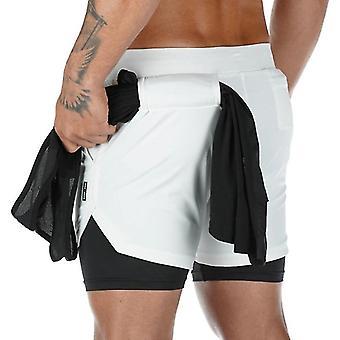Pánské fitness sport suché fit tréninkové šortky