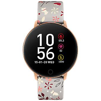 Radley Smart Rys05-2048 Black Dial Silicone Strap Ladies Watch