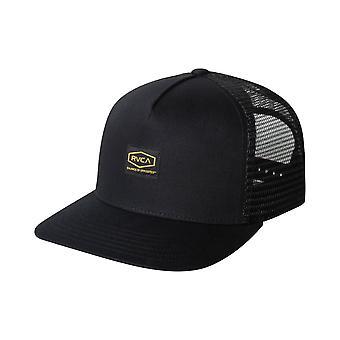 RVCA Dayshift Trucker Cap in Black
