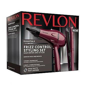 Revlon RVDR5230UK Haardroger & Stijltang Set | 2kw Droger, 210*