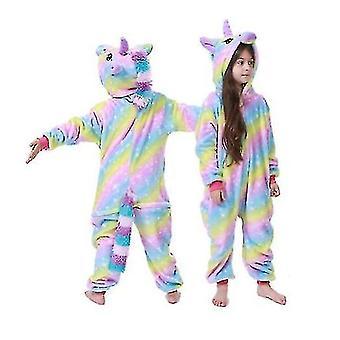 Gyerekek Téli pizsama Gyerekek Hálóruha Unicorn Kigurumi Onesies Boys Girls Takaró Alvó Baby