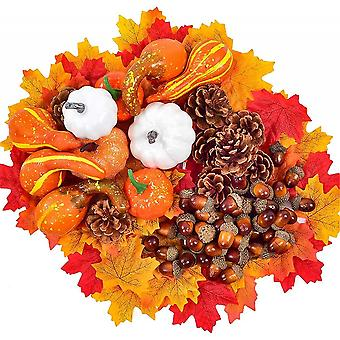 Small Artificial Pumpkins For Holiday Decorations