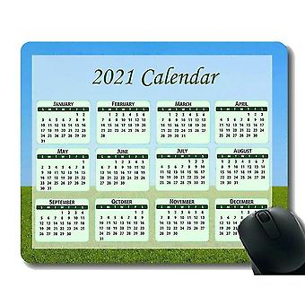 Keyboard mouse wrist rests 300x250x3 calendar 2021 seasons of different colo mouse pad space moon stars planet science night